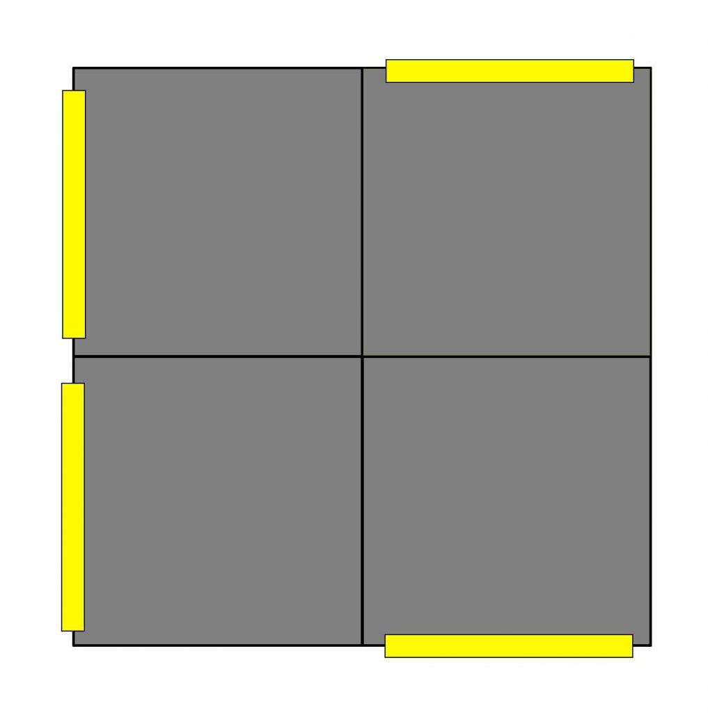 dibujo para hacer un cubo