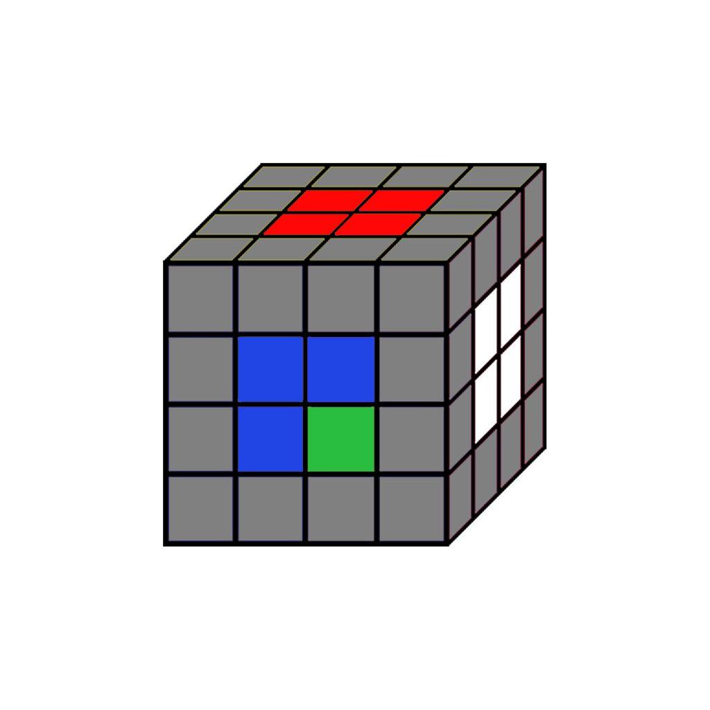 colores rubik 4x4
