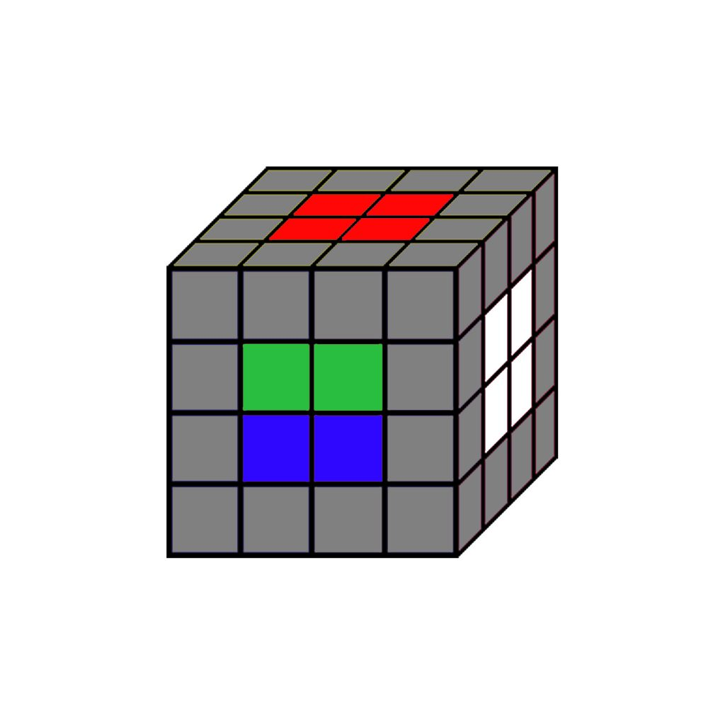 cubo de rubik 4x4 solucion