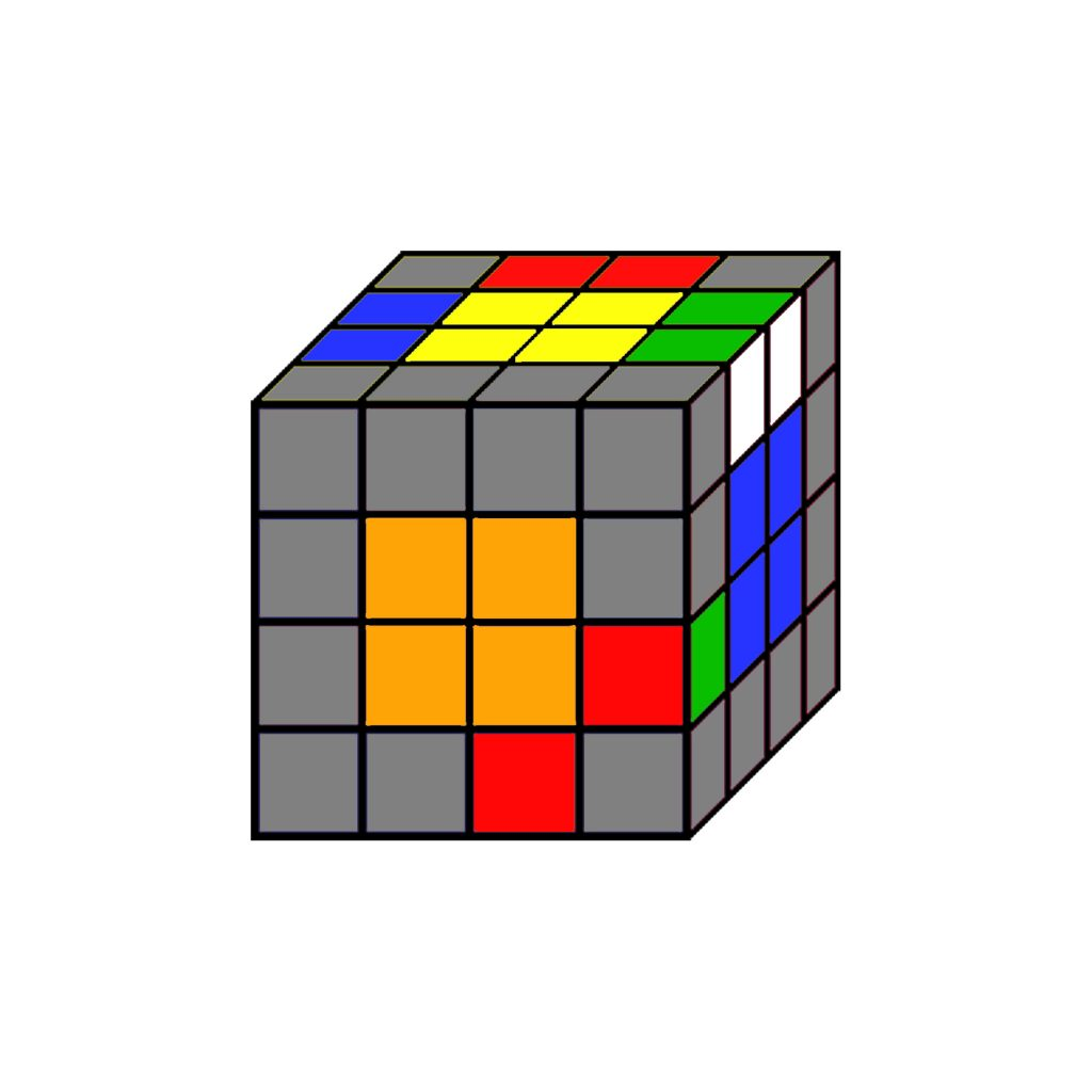 resolver cubo rubik 4x4