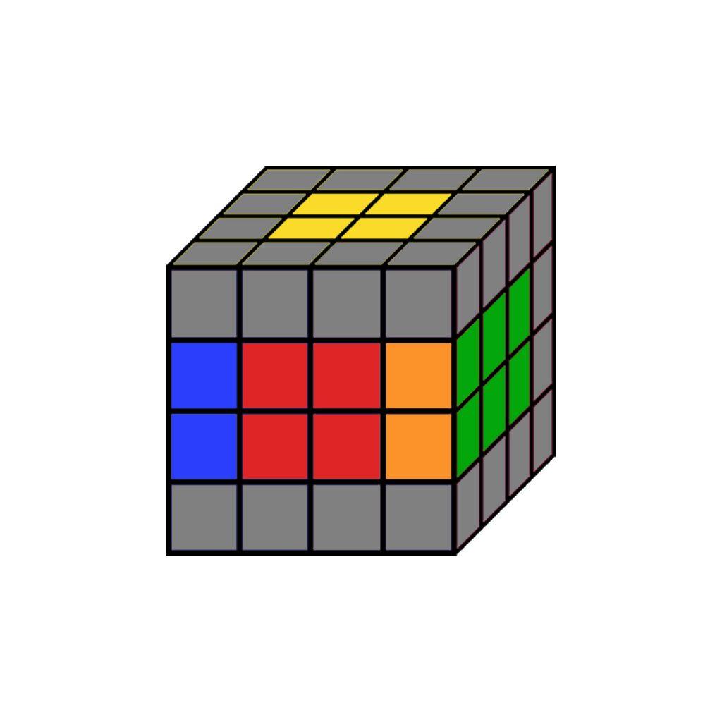 cubo magico 4x4 paridades