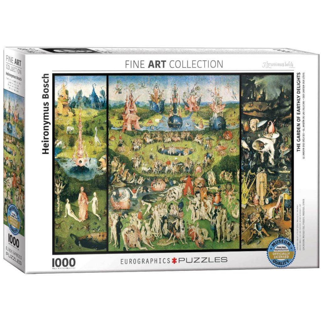 puzzles de cuadros famosos