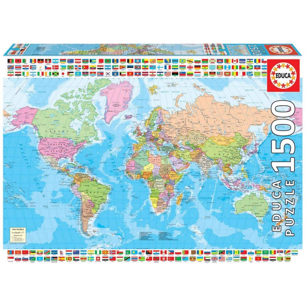 puzzles de mapas