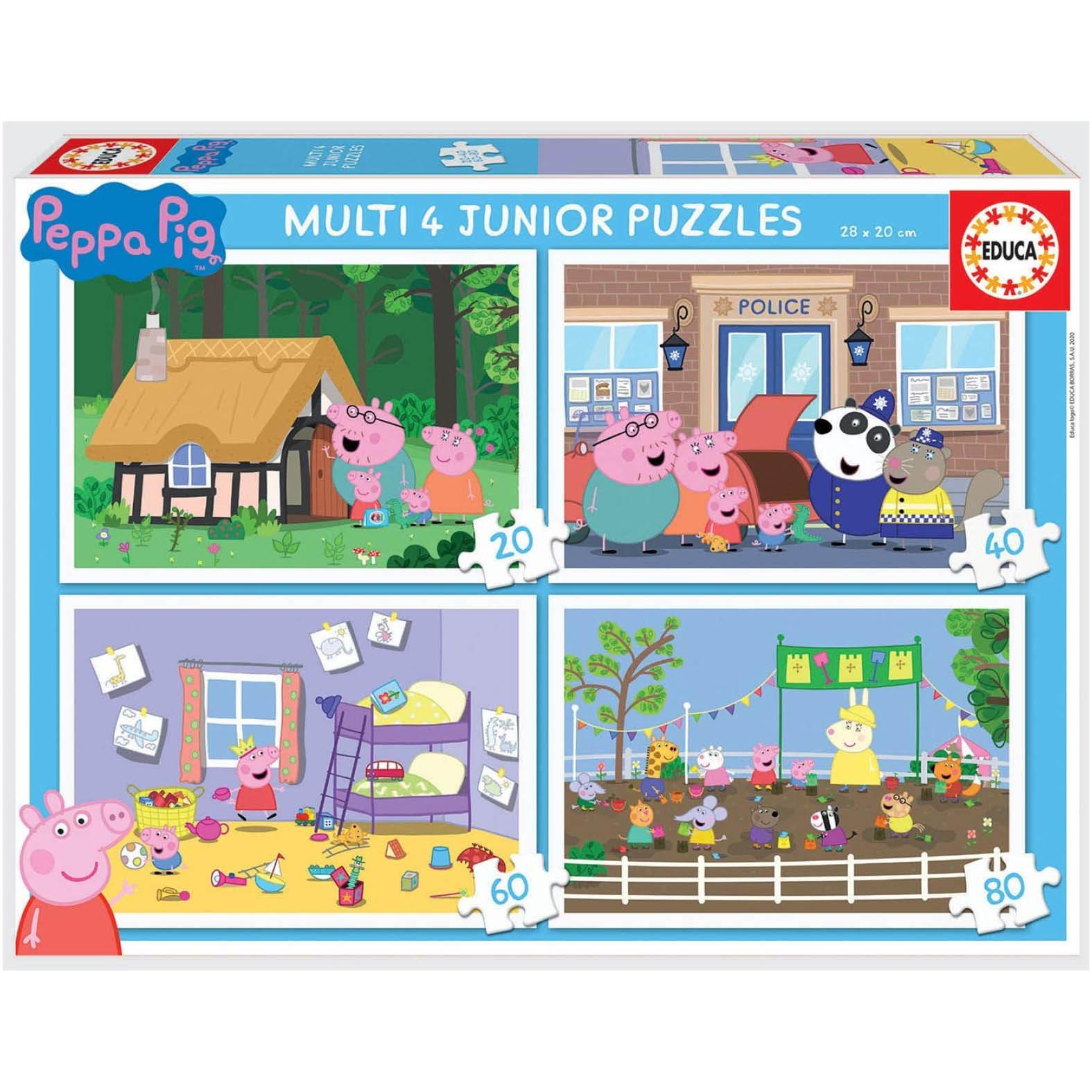 puzzles peppa pig