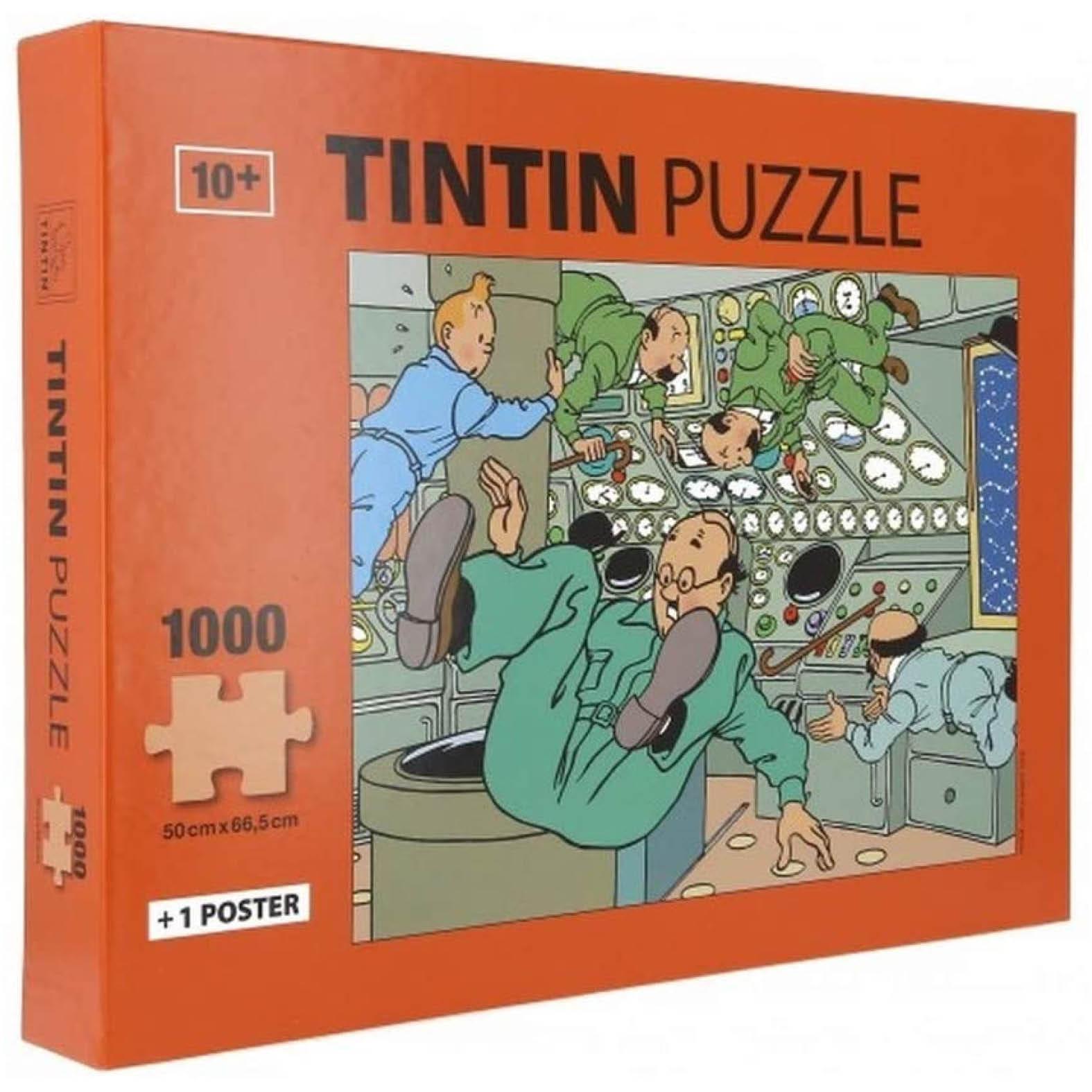 puzzles tintin
